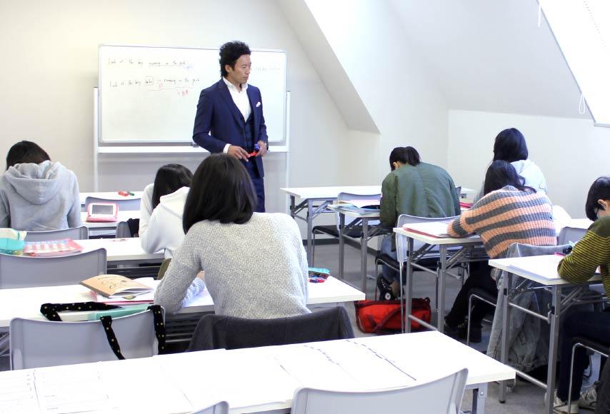 英語進学塾リオン 千葉校 授業風景